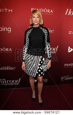 LOS ANGELES - FEB 10:  Kelly Lynch at the The Hollywood Reporter's Annual Nominees Night Party at Spago on February 10, 2014 in Beverly Hills, CA