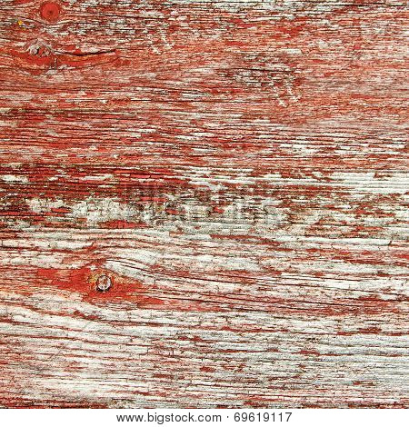 Rustic Red Barnwood Background