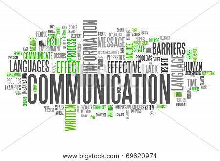 Word Cloud Communication