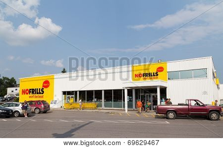 No Frills Store In Canada