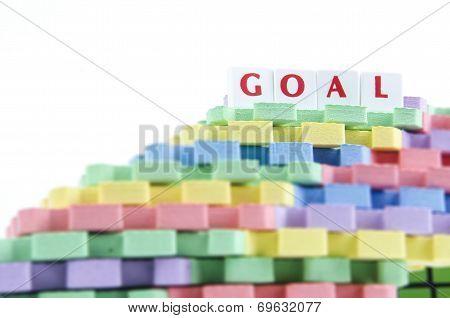 A tower of rubber mats