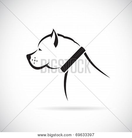 Vector Images Of Pitbull Dog