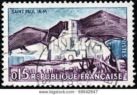 Saint-paul Stamp