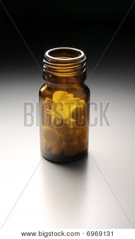 Bottle With Pills