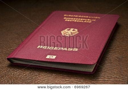 German Passport White