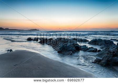 Lusty Glaze Beach