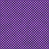Dark Purple and White Small Polka Dots Pattern Repeat Background that is seamless and repeats poster