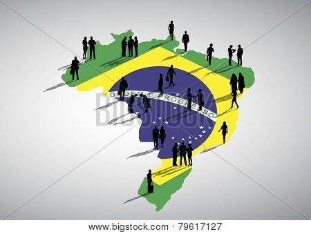 Brazil Business vector