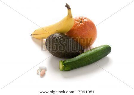 Vitamins And Fresh Foods