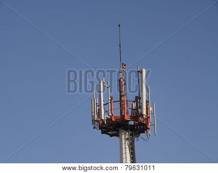 Transmitter of mobile telephony,