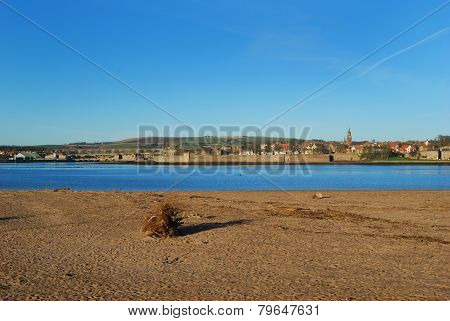 Berwick Upon Tweed In Mid Winter