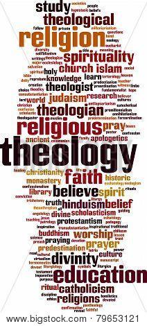 Theology Word Cloud