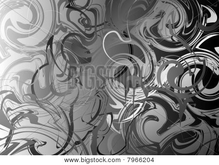 Metallic Swirl background