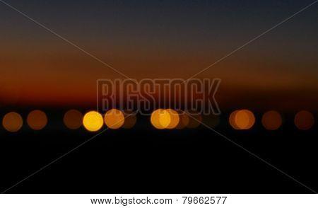 Background bokeh lights