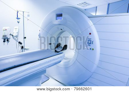Ct (computed Tomography) Scanner In Hospital