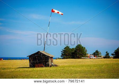 Rural airfield