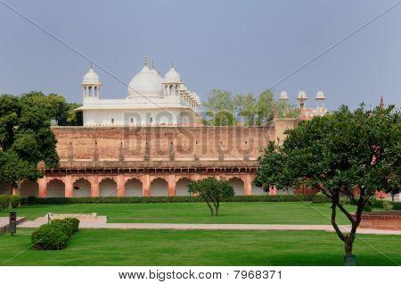 Red Fort in Agra India Uttar Pradesh poster