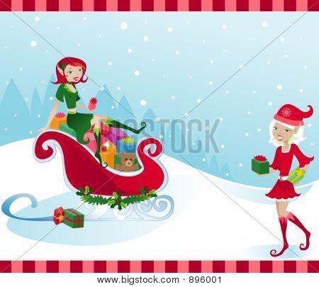 Holly Jolly Elves