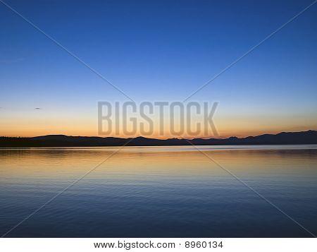 Yellowstone Lake Dawn