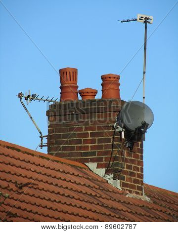 Domestic Chimney: Britain