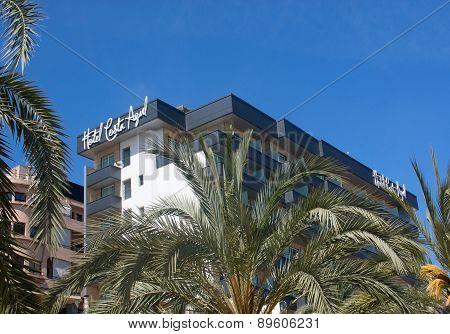 Hotel Costa Azul on the Paseo Maritimo