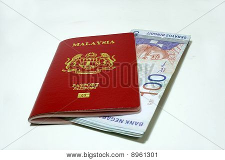 Malaysia passport and Notes