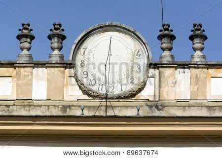 Monza, Villa Reale: Sundial