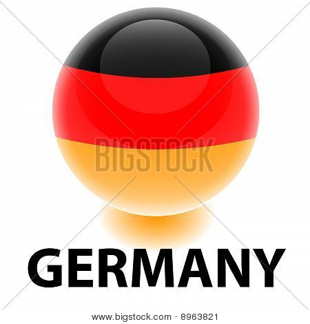 Orb Germany Flag