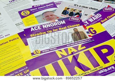 UKIP General Election Leaflets