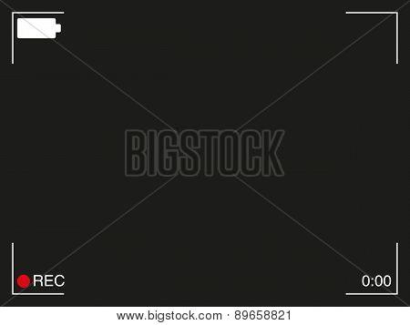 Camera Vievfinder Background - Resolution 4:3