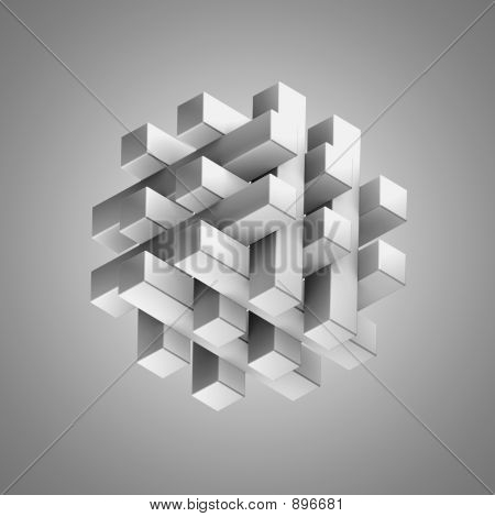 3D Puzzle - Solved