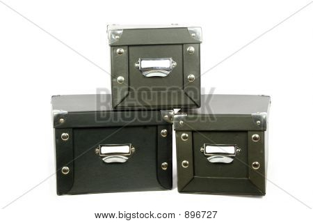 Three Storage Boxes
