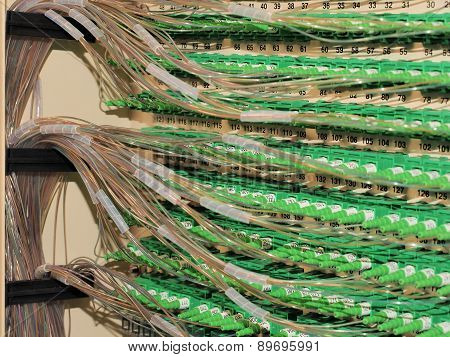 Fiber Optic Connectors and fiber routing in FDH
