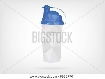 Low Poly Protein Shaker