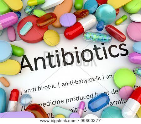 Prescription drugs - Antibiotics