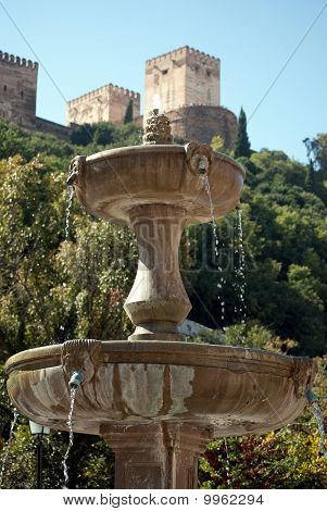 Source of the sad walk to the Alhambra