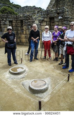 People Visit Beautiful Hidden City Machu Picchu