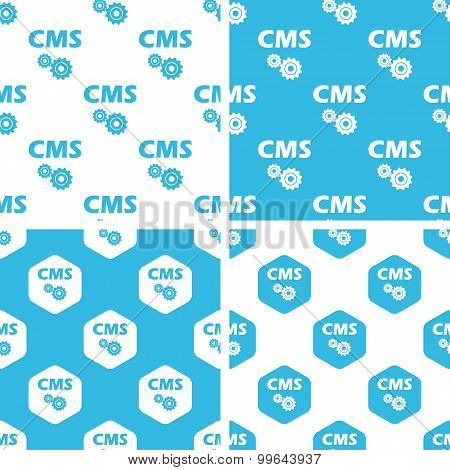 CMS settings patterns set