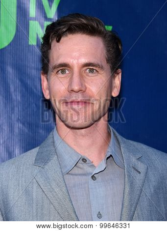 LOS ANGELES - AUG 10:  Brian Dietzen arrives to the Summer 2015 TCA's - CBS, The CW & Showtime  on August 10, 2015 in West Hollywood, CA