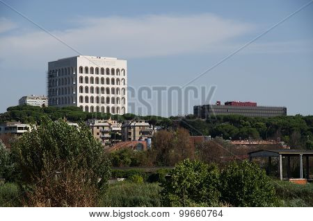 Eur District In Rome