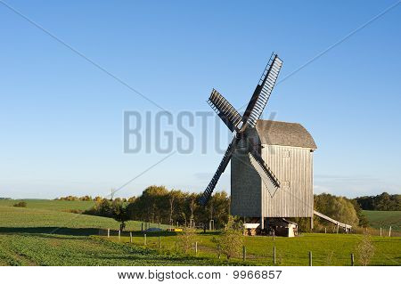 Old Windmill In Germany