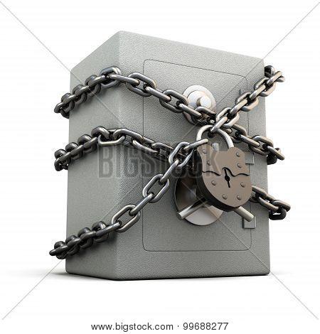 Safe With Granary Lock