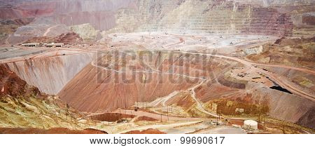 A Panoramic View Of The Morenci Mine