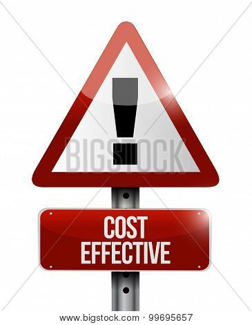 Cost Effective Warning Sign Concept