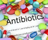 Prescription drugs - Antibiotics poster