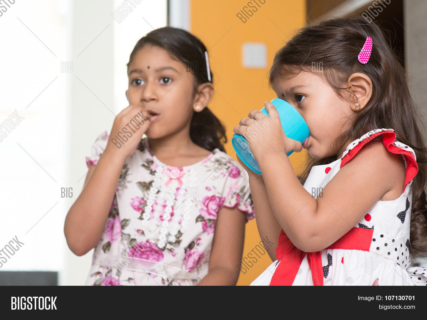 candid shot two cute image & photo (free trial) | bigstock