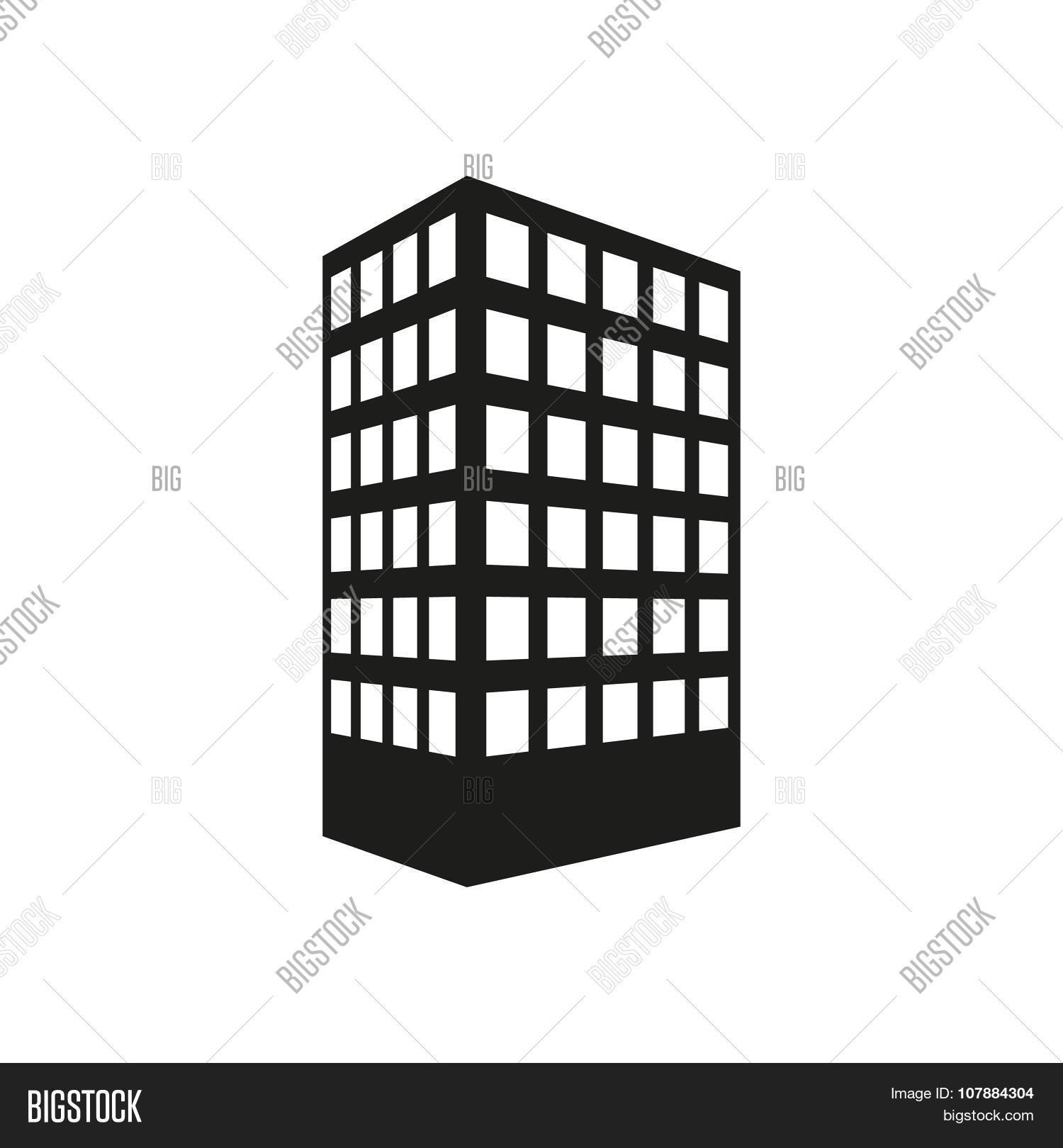 Building icon apartment vector photo bigstock the building icon apartment and skyscraper townhouse house symbol flat biocorpaavc