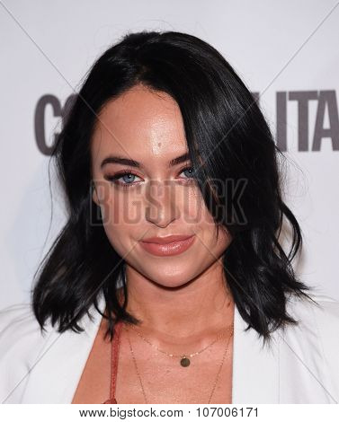 LOS ANGELES - OCT 13:  Alexx Mack arrives to the Cosmopolitan's 50th Birthday Party on October 13, 2015 in Hollywood, CA.