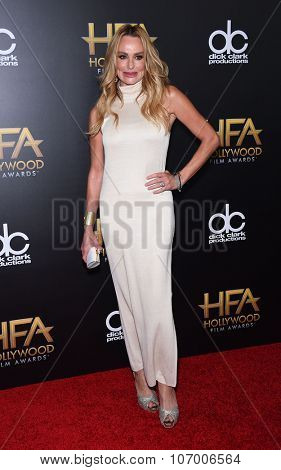 LOS ANGELES - NOV 1:  Taylor Armstrong arrives to the Hollywood Film Awards 2015 on November 1, 2015 in Hollywood, CA.