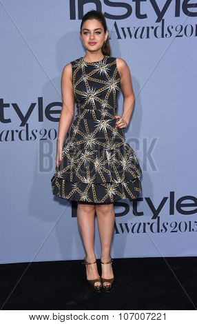 LOS ANGELES - OCT 26:  Odeya Rush arrives to the InStyle Awards 2015  on October 26, 2015 in Hollywood, CA.